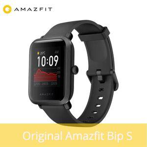 Android Telefon için YENİ 2020 Amazfit Bip S Akıllı İzle 5ATM Smartwatch GPS GLONASS Bluetooth sağlık