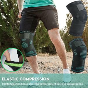 1шт 3D колено поддержка ремень эластичный бандаж бандаж ноги обернуть для тяжелой атлетики