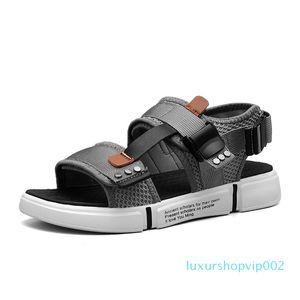 Hot Sale-Fashion Man Пляж Открытого обувь Roman Men Casual обувь Вьетнамка тапочки Flat Sorrynam