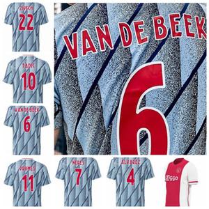 size:S-XXL VAN BEEK ZIYECH TADIC AJAX PROMES áAREZ TADIC NERES VAN BEEK shirt uniforms