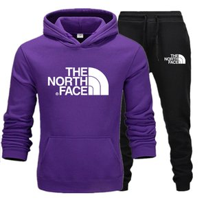 winte дизайнер спортивный костюм мужчины роскошные спортивные костюмы осень бренд мужские северные костюмы куртка + брюки наборы спортивные женщины лицо костюм хип-хоп наборы