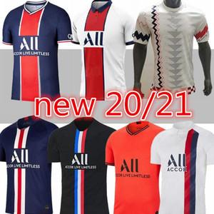 neue Maillots de football 19 20 21 Paris-Fußball Jersey 2019 2020 2021 Mbappe ICARDI 4. Hemd zu Hause weg 3. maillot de foot hommes enfants