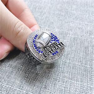 Изготовленный на заказ кольца чемпионата новейшие 2019 фэнтези-футбол чемпион кольца мемориальный любителей кольцо подарок США размер 9-13