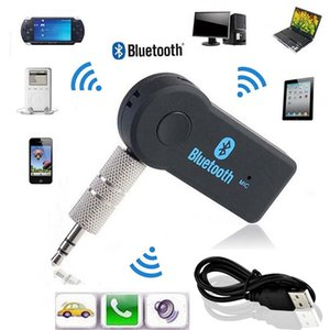 Wireless Car Bluetooth Receiver Adapter 3.5MM AUX Audio Stereo Music Hands-free Home 600set lot