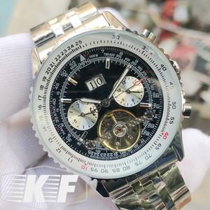 Mode Staiinless Stahl Luxuxdatums Mens nur männliche mechanische automatische Bewegung Designer Armbanduhren Uhr Handaufzug Uhren