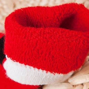 Осень Зима Рождество Themed Дети хлопок мультфильм жаккардовые носки Детские носки впитывают пот анти пиллинг носков
