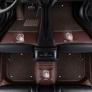 마즈다 로고 CX-4 CX-5 CX-7 CX-9 MX-5 Axela Atenza RUIYI 2/3/5/6/8 매트 보호 카펫 바닥에 대한 LUNAD 사용자 정의 맞는 자동차 바닥 매트