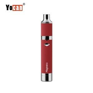 100% оригинал Yocan Магнето стартовый комплект сухой травы воск ручка испаритель 1100 мАч батареи Магнето картридж керамическая катушка толстые масла для воска электронной сигареты