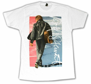 Rod Stewart Leather Jacket Pic Time T Shirt New Official Merch
