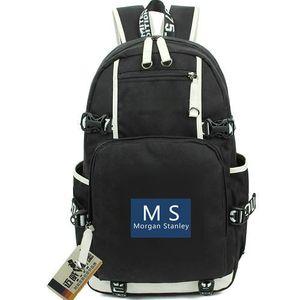 Morgan Stanley 데이 팩 MS 로고 데이 팩 좋은 금융 schoolbag 은행 packsack 컴퓨터 배낭 스포츠 학교 가방 Out door backpack