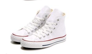 Drop Shipping New Unisex Low-Top High-Top da uomo adulto scarpe di tela 15 colori allacciati scarpe casual Sneaker scarpe scarpa Eur35-44