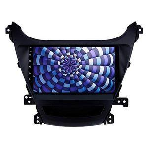 Bluetooth de pantalla táctil completa Espejo Enlace del video del coche de radio auto de apoyo 2014-2016 Hyundai Elantra AUX sintonizador de TV