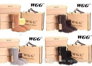 Hot Drop shipping 2019 High Quality WGG Women's Classic tall Boots Womens boots Boot Snow Winter boots leather boot US SIZE 5---13