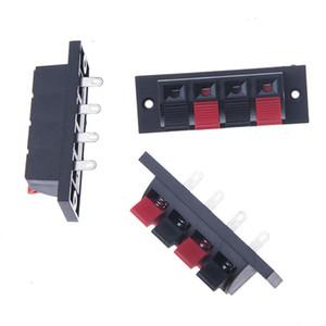 4-Pin Wiring Test Clip Schwarz Alterungs Schmetterling Clip 4 Pins Lautsprecher Clip Alterungstest Kabel-Draht-Schellen