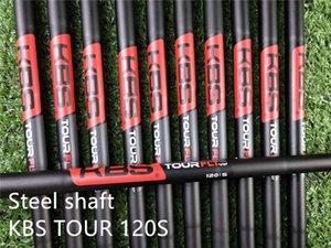 eixo de golfe KBS Posto de FLT 110R 120S Black Steel KBS TGI 80 60 70 95 grafite eixo de golfe clubes ferros de cunha eixo híbrido