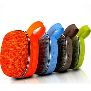 X25 Fabric Bluetooth Speaker Portable Wireless Cloth Subwoofer MP3 Player FM Radio Audio TF Card Reader AUX Play Outdoor Bluetooth Speakers