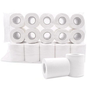 Four-layer Branco Papel Higiênico Papel 80G Papel Ultra Soft Tissue rolo de papel Toalhas Guardanapos Household Hotel Supplies Atacado