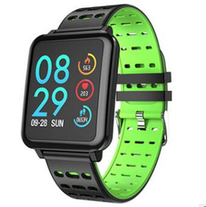 T2 Smart Watch Big Screen Heart Rate Monitor Blood Pressure Blood Oxygen SPO2 Multi Sport Mode IP67 Swim Smartwatch Men