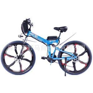 Pieghevole mountain bici elettrica 48V batteria al litio piena ammortizzatore ruota integrato ciclomotore installazione gratuita