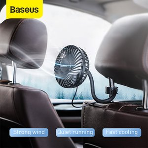 Cheap Heating & s Baseus Car Fan 360 Degree Rotating Air Vent Conditioner Cooling Fan Auto Backseat Air Vent USB Cooling Fan