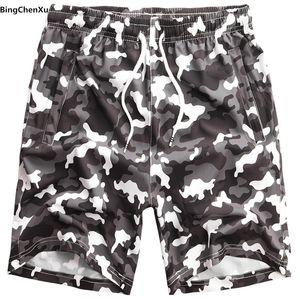 2019 Camouflage Herren Big Size 8XL Boardshorts Plus Size Strandshorts camo Herren Quick Drying Short Herrenhosen Badebekleidung 4926