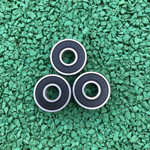 500 pçs / lote 607RS 607-2RS 607 2RS RS 7x19x6mm Sulco Profundo rolamento de esferas de Borracha Em Miniatura selo para peças de impressora 3D 7 * 19 * 6mm