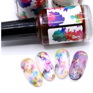 Vernis à ongles en gel Halo Dye Ink 12Colors tremper hors gel manucure 3D nail design manucure 3D naturel gel sec sans vernis de laque LED / UV