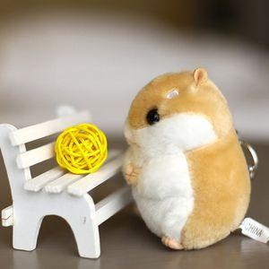 Высокое качество пушистый новый Хомяк мышь плюшевые игрушки-10 см животных мягкие плюшевые игрушки куклы, брелок плюшевые игрушки