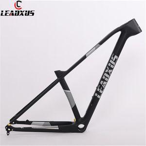 LEADXUS 29er 초경량 탄소 섬유 MTB 자전거 프레임 퀵 릴리즈 / 스루 액슬 교환 29 인치 산악 자전거 탄소 프레임
