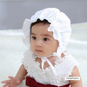 girl Palace hollow fisherman cute Baby photo hat
