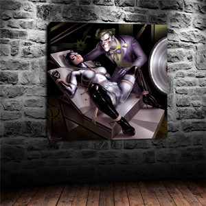 Joker Vs Catwoman -2,HD Canvas Printing New Home Decoration Art Painting (Unframed Framed)