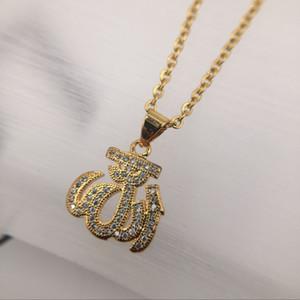 Neue Hip Hop-Mode-Männer Gold-Silber-Edelstahl-Feuerkristall-Anhänger verdrehte Ketten-Halskette Schmucksachen Weihnachtsgeschenk