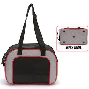 Плечи собак Pet Cat Carrier Bag Front Comfort Travels Tote Одно плечо сумка зоотоваров Износостойкий 24 39ty UU