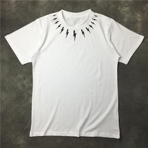 Hombres Ropa de verano hombre de las camisetas Modelo geométrico impresión de la manera Hombres Mujeres Parejas refresque la camiseta corta del equipo de la manga del cuello Tees Hombres Mujeres Blanco