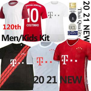 Tailandia Coutinho 20 21 Bayern Munich uniformes GNABRY Davies Jersey del fútbol de Lewandowski HERNANDEZ Fútbol fußballtrikots MUNCHEN Britische