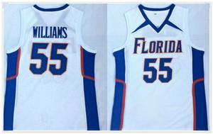 2020 ولاية فلوريدا جيسون رقم 55 ويليامز بروكلين كرة السلة كلية كيفن دورانت # 7 جيمس هاردن 13 خمر الأمريكية مخيط القمصان البلوزات