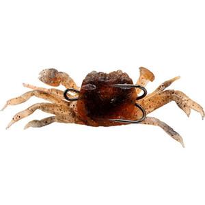 5pcs 3 Couleur 100mm 33.4g crabe Jigs crochet de pêche Crochets Hameçons Leurres souples Appâts appâts artificiels Pesca Peche Accessoires