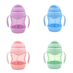 Beber copos de água Criança Leak-proof crianças Sippy Cup bebê Learning and Drop-prova de beber caneca do bebê Cup água com alça
