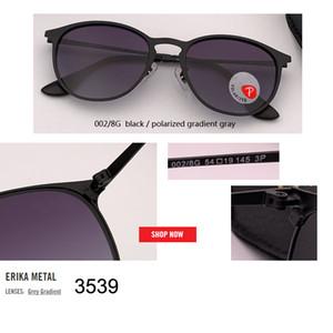 2019 جديد خمر القط العين الاستقطاب النظارات النساء الرجال أزياء العلامة التجارية مصمم مرآة 3539 نظارات الشمس للإناث ظلال uv400 gafas