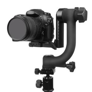 """Profissional Panorâmica de 360 Graus Vertical Pro Gimbal Tripé Cabeça 1/4 """"parafuso para canhão nikon pentax sony dslr câmeras dv filmadora"""