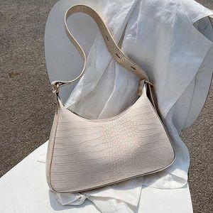 Lady Fashion Stone Pattern Small PU Leather Armpit сумки для женщин 2020 элегантные сумки на плечо женская дорожная сумка Bolsas