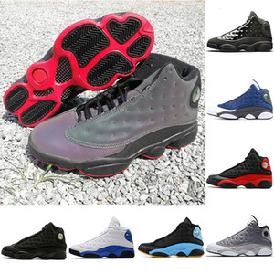 13 13s Mens Womens Basketball Shoes Black Infrared Bred Terracotta Blush Atmosphere Cap And Gown Altitude DMP Flints Chicago Sports Sneakers