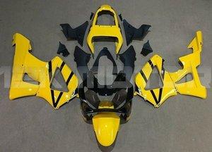 Инъекции Плесень Новых ABS обтекатели комплекты подходят для HONDA CBR900RR CBR929RR 2000 2001 кузовной набор бесплатных пользовательских желтых черного
