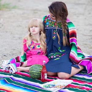 Popular Rainbow Table Flag Home Decoration Multi Colors Charm Tassel Throw Blanket Summer Beach Towel Fit Outdoor 30 8dz E1