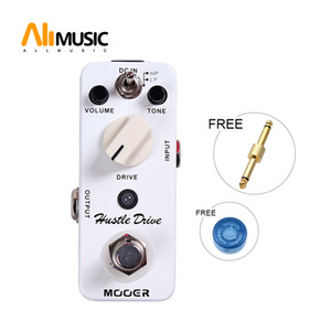 Mooer Hustle Drive Distortion Pedal Ultra wide dynamic range and extraordinary open tube Full metal shell True bypass Free shipping MU0330