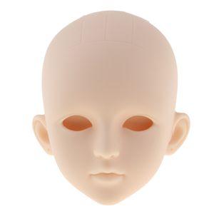 1/4 Lebensechter Mädchen-Puppenkopf ohne Augen für BJD XinYi Puppenkörperteile Zubehör