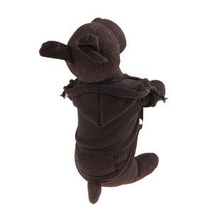 Poliéster Hoodied Sudaderas con el bolsillo para mascotas ropa para perros ropa nueva llegada dropshipping para mascotas lindo
