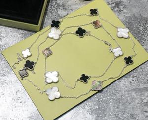 Top-Qualität Halskette mit Blume in 90cm Naturstein und drei Größen Blume 1.2cm 1.4cm 1.6cm für Frauen Hochzeit gi ft Schmucksachen freien Verschiffen