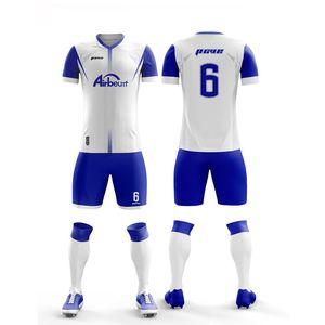 2019 New High Quality Kids Soccer Jerseys Sets Football Kits Adult Men Child Futbol Training Uniforms Sets DIY