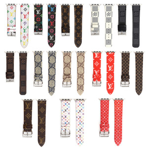 Sport Accessoires watchbands Apple WACTH Styles mixtes Bracelet Styles multiples Replace cuir 13 couleurs mode